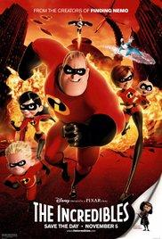 Films, January 04, 2019, 01/04/2019, The Incredibles (2004): Two time Oscar winning animation