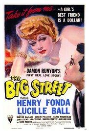 Films, March 06, 2017, 03/06/2017, Irving Reis' The Big Street (1942): Paralyzed Club Singer