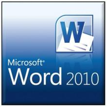 Workshops, May 31, 2017, 05/31/2017, MS Word 2010 for Beginners