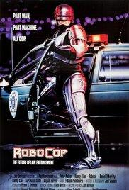 Films, April 03, 2017, 04/03/2017, Paul Verhoeven's Oscar Nominee Robocop (1987): Cyborg Crime Fighter