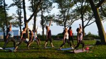 Workshops, August 20, 2017, 08/20/2017, Yoga Outdoors