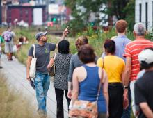 Park Walks, September 30, 2017, 09/30/2017, High Line Tour: From Freight to Flowers