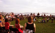 Workshops, July 19, 2019, 07/19/2019, Sunset Jam on the Hudson