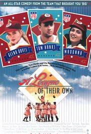 Films, August 28, 2017, 08/28/2017, Penny Marshall's A League of Their Own (1992): There's No Crying in Baseball