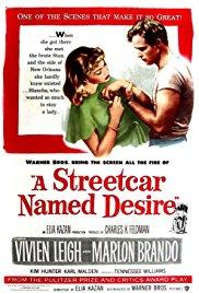 Films, January 17, 2019, 01/17/2019, A Streetcar Named Desire (1951): Four time Oscar winning drama by Elia Kazan
