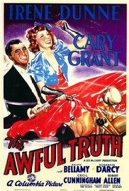 Films, September 21, 2017, 09/21/2017, Leo McCarey's The Awful Truth (1937): Divorcees Scheming