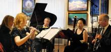 Concerts, February 11, 2018, 02/11/2018, Chatham Chamber Ensemble performs works by Piazzolla, Beethoven, Albéniz